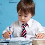 Мальчик с ручкой